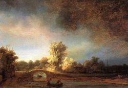 Rembrandt_ponte_di_pietra